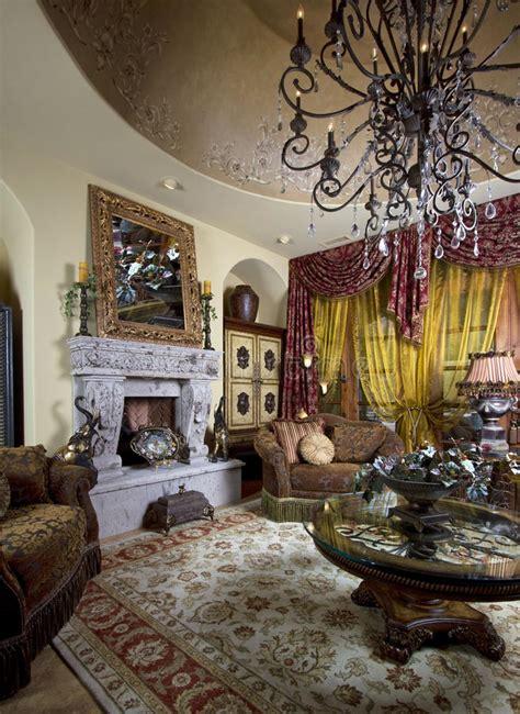 home interior design decoration stock image