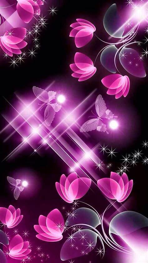 black  pink butterfly wallpaper  wallpapercom