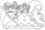 Mardi Gras Coloring Pages Parade Happy Sheets Printable Colouring Floats Drawings Carnival Drawing Books Occasions Holidays Special Getdrawings sketch template