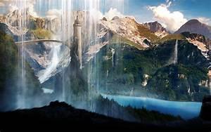 Waterfalls Scenery Wallpapers