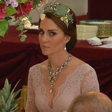Kate Middleton Sublime Avec Tiare Lady Elle