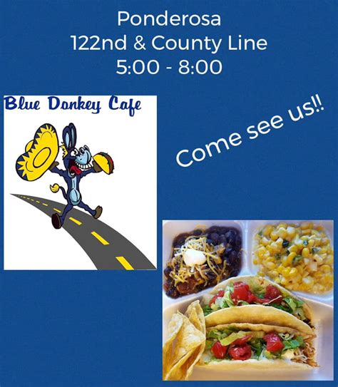 Buy one of our donkey cups and your first coffee is free. Blue Donkey Cafe - Home - Oklahoma City, Oklahoma - Menu ...