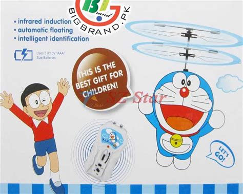 Doraemon Flying Aircraft With Remote Control