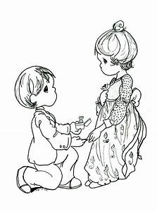 Precious Moments Christmas Coloring Pages Wallpapers9