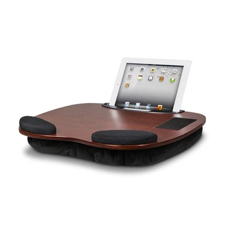 epad padded desk tablet wooden desk with wrist pads smart media