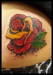 Gallery For > New School Roses Tattoo