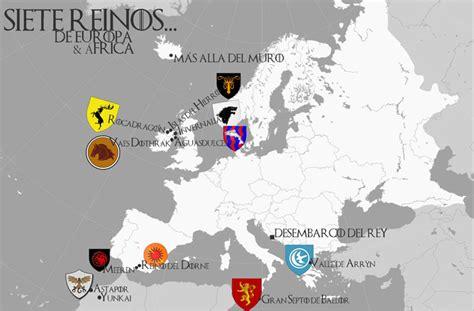 Los Siete Reinos De Europa (y África)