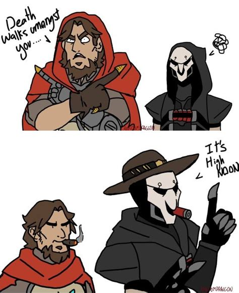 Mcree Memes - funny xd mccree e reaper overwatch pinterest beans fingers and he has