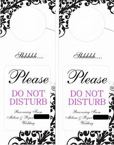 savannahh39s blog here 39s what sarah came up with for diy With free do not disturb door hanger template