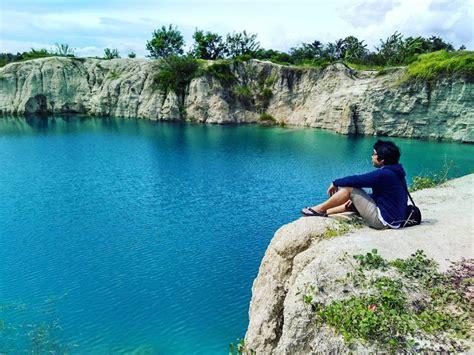 telag biru cigaru danau cantik  tangerang