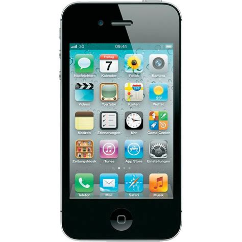 smart iphone apple iphone 4s 16 gb sim free smartphone from conrad