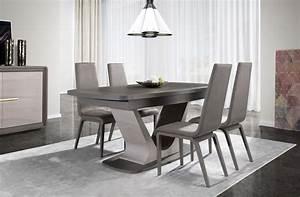 salle a manger neptune cacio bois chene meubles gibaud With meuble de salle a manger avec salle a manger moderne en bois