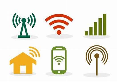 Wifi Symbol Vector Internet Mobile Clipart Handicap