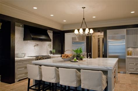 2 Tone Kitchen  Contemporary  Kitchen  Atlanta Homes