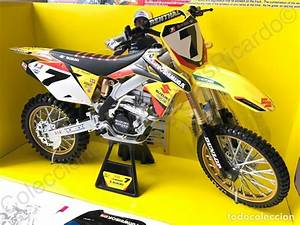 Moto Cross Suzuki : moto cross suzuki rm z450 factory racing de jam comprar motos a escala en todocoleccion 77482581 ~ Louise-bijoux.com Idées de Décoration