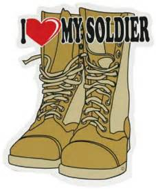 I Love My Soldier Clip Art