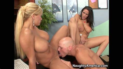 Buxom Milf Carmella Bing Takes Part In A Ffm Threesome