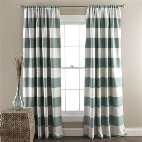 Grey Striped Curtains Target by Eclipse Braxton Thermaback Window Panel I Target