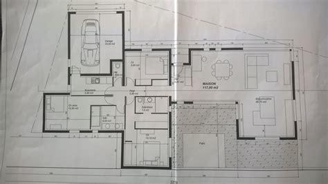 cuisine et salon ouvert avis sur plan d une maison de 130m2 sur terrain atypique