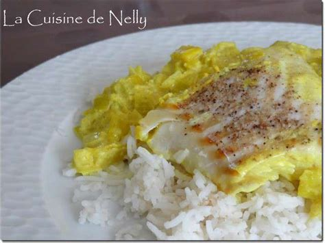 cuisine dos de cabillaud recettes de curcuma et poireaux 2