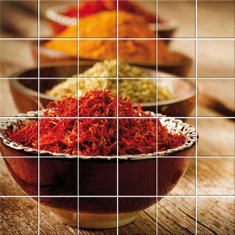 image carrelage cuisine stickers carrelage épices pas cher