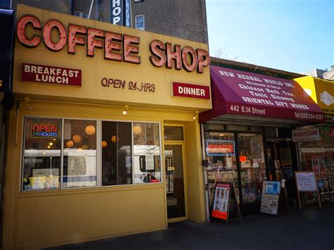 This coffee shop is still one of my all time favorites in new york for their amazing coffee, delicious menu (don't miss out on their avocado toast!), and their awesome chill beachy their other locations are sprinkled throughout the city and great to checkout as well. Coffee Shop, East Village, New York City | East Village, New… | Flickr