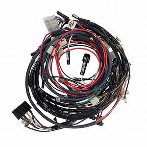 Fds3371 Ford 3 Cylinder Restoration Quality Wiring Harness Kit