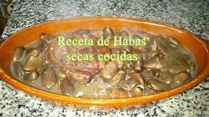 receta de habas secas cocidas