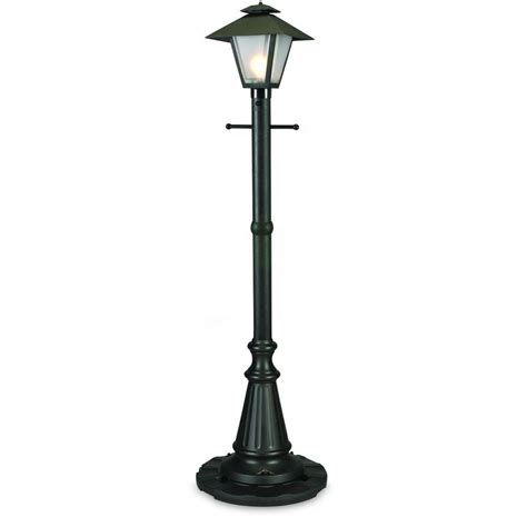 Patio Living Concepts Cape Cod Black Outdoor Plug In Post