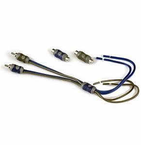 Kicker 46kisl Car Audio Amp Amplifier Speaker Wire To 2
