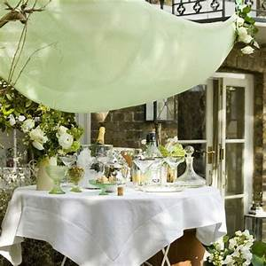 Create an elegant look for outdoor entertaining ...