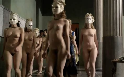 Katrina Law Nude Boobs And Bush In Spartacus Series Free