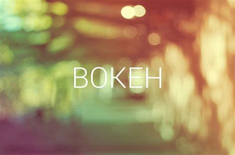 bokeh effect photography photography  premium