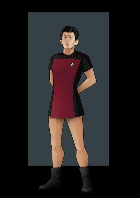Star Trek The Next Generation Wallpaper Ensign In Starfleet 39 Skant 39 Uniform By Nightwing1975 On Deviantart