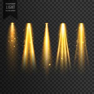 Realistic stage lights Vector | Free Download