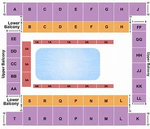 Tennessee Theater Knoxville Seating Chart Knoxville Civic Coliseum Tickets In Knoxville Tennessee