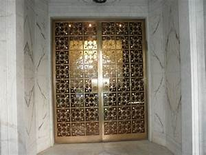 Fabrication and restoration of historic iron and bronze for Bronze entry doors
