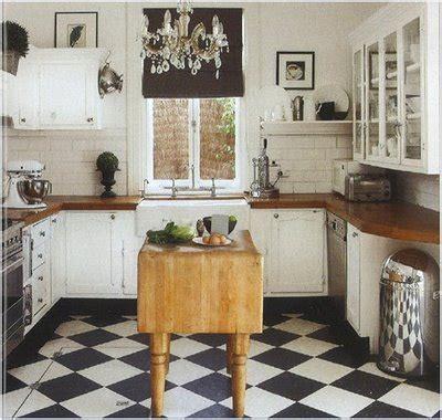 black and white tile kitchen ideas black white kitchen floors being brazen