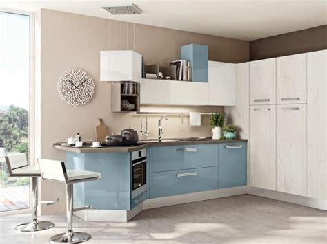 cuisine bleu gris meuble cuisine bleu le plus incroyable en plus de