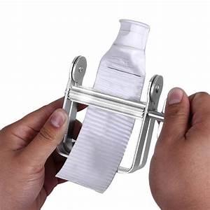 Aluminum Manual Toothpaste Dispenser Tooth Paste Tube