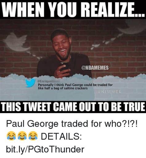 Paul George Memes - 25 best memes about bit ly bit ly memes