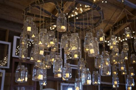 Jar Candle Chandelier by Jar Candle Chandeliers