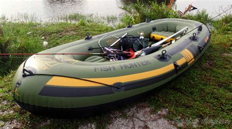 Inflatable Boat Fish Hunter by Sevylor Fish Hunter Inflatable Fishing Boat Tag Or Brag