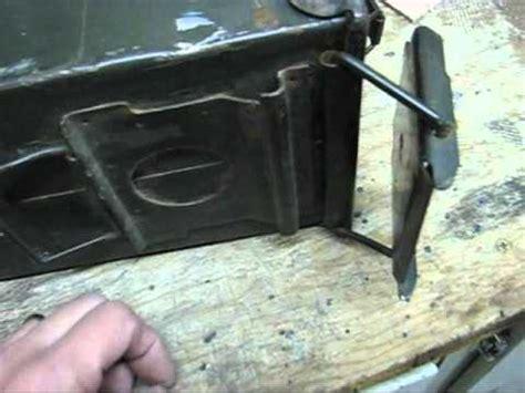 diy wood stove   surplus ammo  youtube