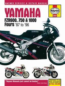 Haynes Service Manual For Yamaha Fzr600    Fzr750    Fzr1000
