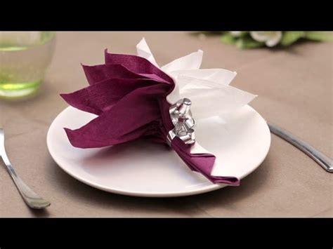 pliage de serviette en papier le palmier labelleadresse my crafts and diy projects