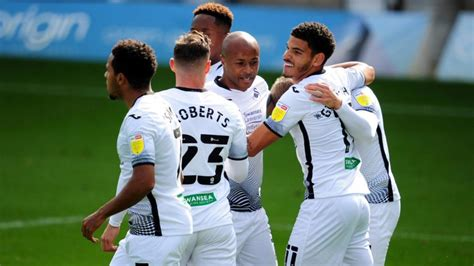 Swansea manager Steve Cooper praises Andre Ayew's role in ...