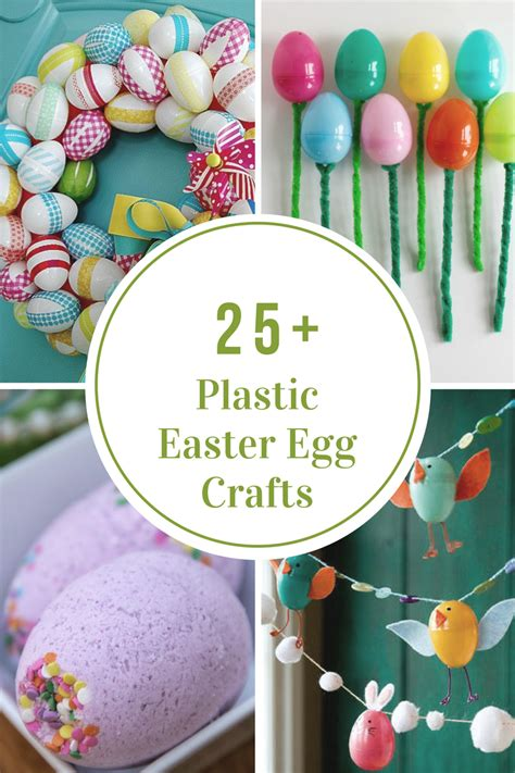 easter projects plastic easter egg crafts and activities the idea room