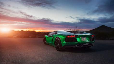 Lamborghini Aventador Green 4k Wallpaper  Hd Car