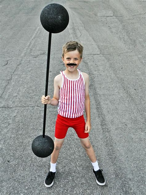 Easy Carnival Strong Man Costume For Kids Hgtv